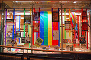 Pride display at Richmond Hill Public Library