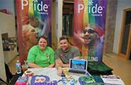 Pride Toronto showcase their upcoming pride festival at our Community Fair.