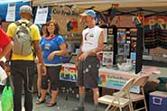 York Pride Fest booth at Toronto Pride