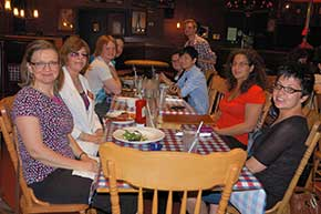 Members of PFLAG York Region joined other attendees at our Richmond Hill social event.