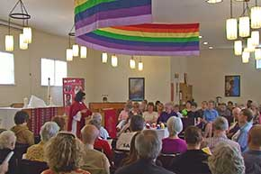 Pride Church Service at the Holy Cross Lutheran Church in Newmarket
