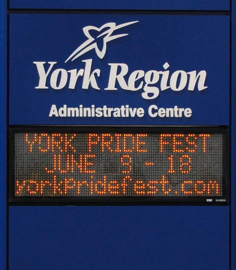The Regional Municipality of York has formally recognized Pride Week 2017 as June 9-18.